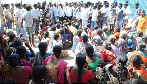 Cuddalore protest over youth's death