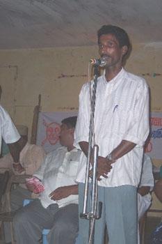 S. Ramanathan talking