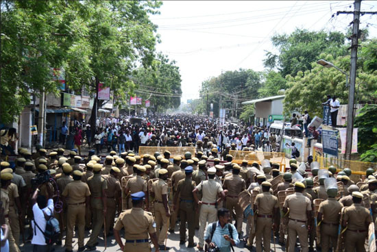 Thoothukudi protests