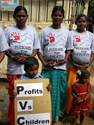Chemplast Sanmar protest