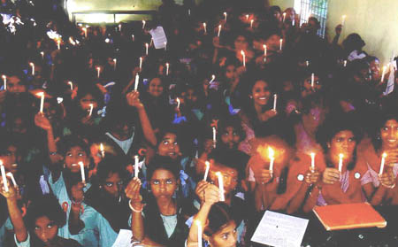 Bhopal candlelight memorial