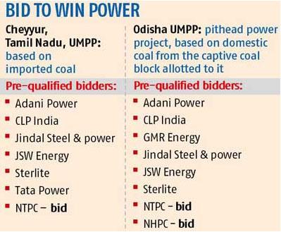 bids to win power