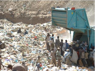 dump waste
