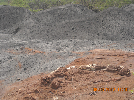 Malco ash dump