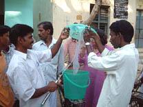 New India bucket brigade
