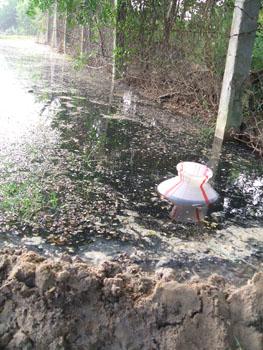 Pioneer Miyagi discharging effluents