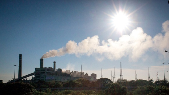 Ennore power plant pollution