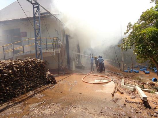 Pandiyan Chemicals fire