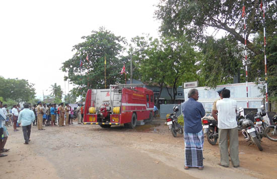 Shahsun Drugs & Chemicals fire