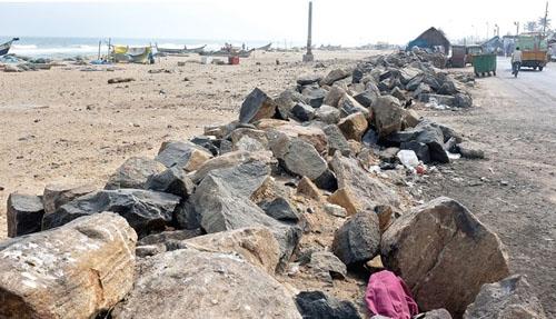 Srinivasapuram-Santhome beach
