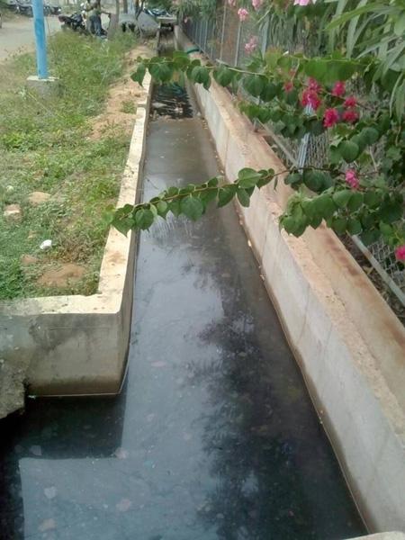 Superchem storm water discharge