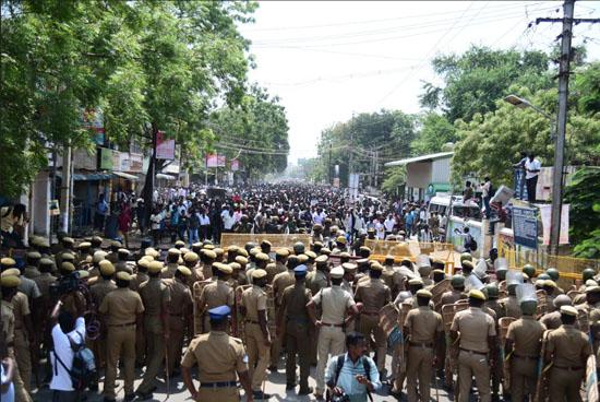 Thoothukudi protests