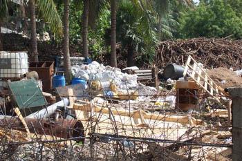 azardous waste stored by Loyal Super Fabrics