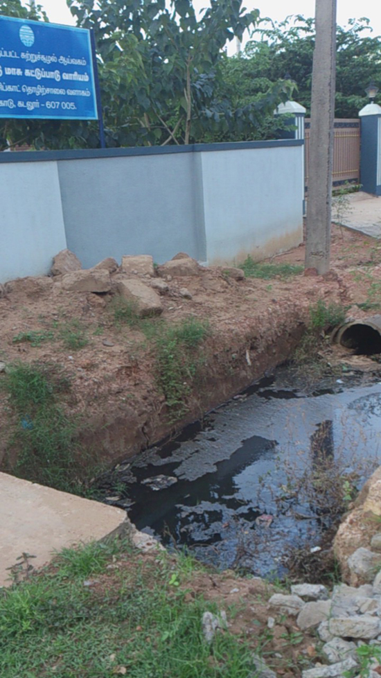 another incident of storm water contamination