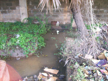 heavy rains discharge