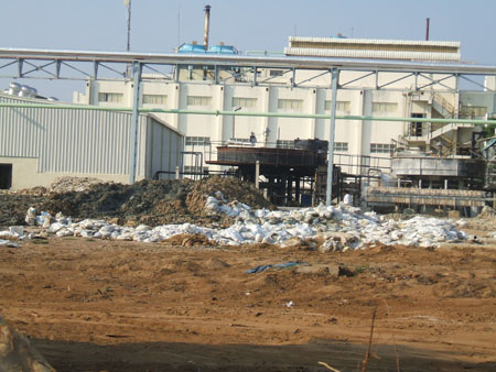 Pioneer illegal dumping
