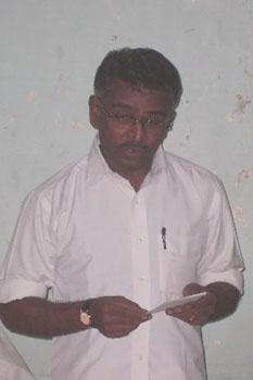Mr. I. Pugazhenthi