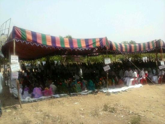 Cuddalore textile park protest